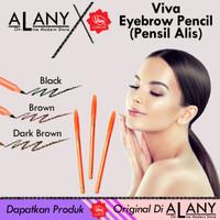 Original VIva - Pensil Alis - Black , Brown, Dark Brown - Dark Brown