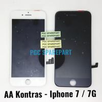 LCD Touchscreen Fullset AA Kontras Iphone 7 - Iphone 7G Apple