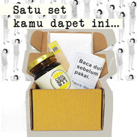 ORI Cool Sugar Wax 225Gr Size S Waxing Kit