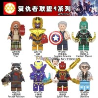 Avengers end game Super hero minifigure lego Infinity War Marvel 0215