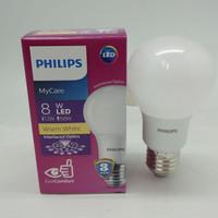 Lampu Bohlam Bola LED Bulb Mycare PHILIPS 8W