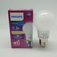 Lampu Bohlam Bola LED Bulb Mycare PHILIPS 6W