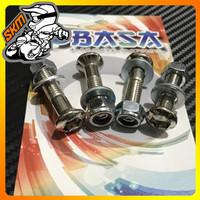 Baut Gear KLX 3cm OBASA