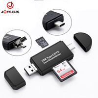 JOYSEUS 3 in 1 OTG Card Reader Type C & micro USB High-speed - KP0015