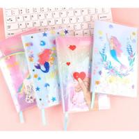 Diary Glitter Unicorn and Mermaid