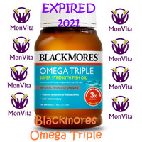Blackmores Odourless Omega Triple Concentrated Fish Oil - 150 caps