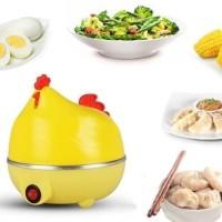 Egg Boiler Chicken / Alat Rebus Telur Ayam Penghangat Steamer Unik