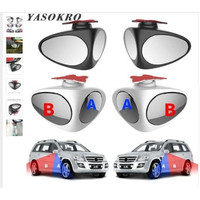 Spion Mobil 2 Sisi Penglihatan Blind Spot Dual Use Wide Angle Mirror