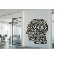 Stiker Oracal Kantor Tulisan Coaching