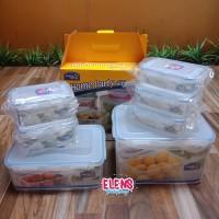 Lock & Lock gift set container 7 pcs