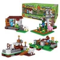 My World 4in1 Minifigure Lego Minecraft