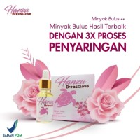 BREAST LOVE Minyak Bulus Premium Argan & Rose Essential Oil