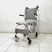 kursi roda travel gea fs 804/kursi traveling/roda umroh/kursi+atas