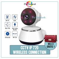 Wireless IP CAMERA CCTV wifi p2p security infrared night 720p