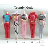 Baju Barbie Trendy Mode