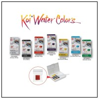 Sakura Koi Water Colour Half Pan Refill / Watercolor Half Pan Refill