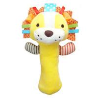 Rattle Stick SKK Baby Squeeze Me Mainan Kerincingan Bayi Boneka Hewan