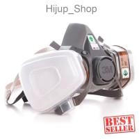 3M Half Facepiece Respirator Half Gas Mask Medium Masker Gas 3M 6200