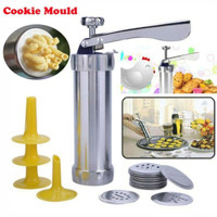 Biscuit cake maker set cookies mold dapur kitchen pastry cetakan kue