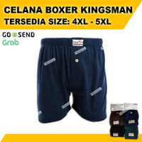 Celana Dalam Pria SUPER BIGSIZE | Boxer Jumbo Kingsman |4XL 5XL JUMBO