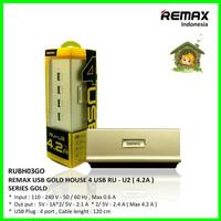 REMAX RU-U2 4 USB Charger Handphone