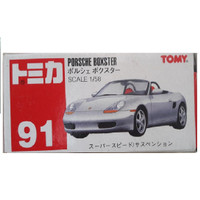 Tomica 91 Porsche Boxster Tomy Red Merah