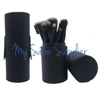 Kuas Make Up Brush Set isi 12 MAC Tabung