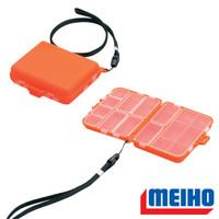 Box Kotak Pancing Meiho Akiokun FB-20 Pocket Size Orange