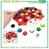 BGY Papan Permainan Asah Otak Daya Ingat Model Kumbang - Multi-Color