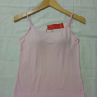 Esprit tank top bra adjustable strap pink original