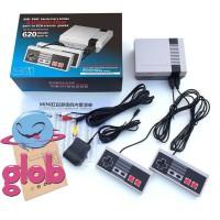 Promo Nintendo NES Clone Classic Console Game 620 Games Build In 8