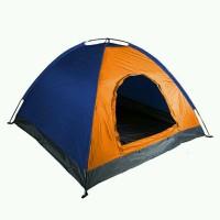 New tenda camping dome kapasitas 6 orang plus alas terpal dengan