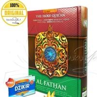 Al Quran Perkata AL FATHAN A5 Plus Bonus Dzikir Pagi Petang
