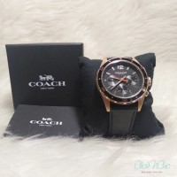 COACH 14602087 MEN'S BLACK LEATHER