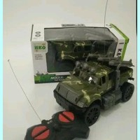 mainan anak mobil jeep remote control rc modul jeep