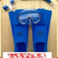 Set Alat Snorkeling Selam Ya Jie - Fin Kaki Katak Snorkel Conquest