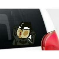 Stiker Mobil Batman Hit The Glass