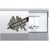 Stiker Oracal Kantor Tulisan Teambuilding