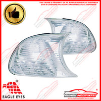 CORNER LAMP - BMW E46 2 DOOR 1999-2001 - CRYSTAL - EAGLEEYES