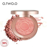 o.two.o original blush on natural baked face mineral blusher 6 colors