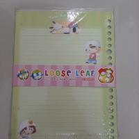 Kertas File Cute Loose Leaf Karakter A5 (isi 25/50) - You And Me
