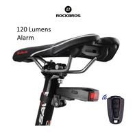 ROCKBROS TL1706A6 Bike Tail Light COB with Alarm - Lampu Alarm Sepeda