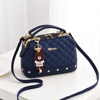 Tas Import Wanita 82837 hand bag murah selempang kulit pu pergi kerja