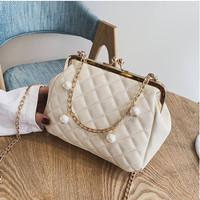 85845 tas wanita cewek import pesta selempang shoulder bag beige murah