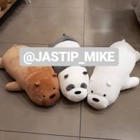 we bare bears boneka beruang panda ice bear grizzly