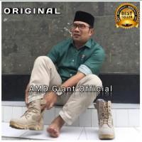 Sepatu Delta Tactical Cordura Gurun Boots Safety Tinggi 8inci - Cream, 42