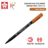 Sakura Koi Coloring Brush Pen Dark Brown
