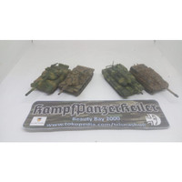 1/72 tank 3D printed, painted, weathered, detailed