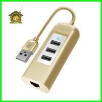 REMAX Cati 3 USB LAN Network Port Hub RU-U4