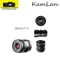 Kamlan 28mm F1.4 for Canon EOS M